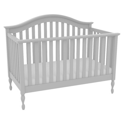 lolly me bailey 4 in 1 convertible crib creamy white target made in usa baby nursery. Black Bedroom Furniture Sets. Home Design Ideas