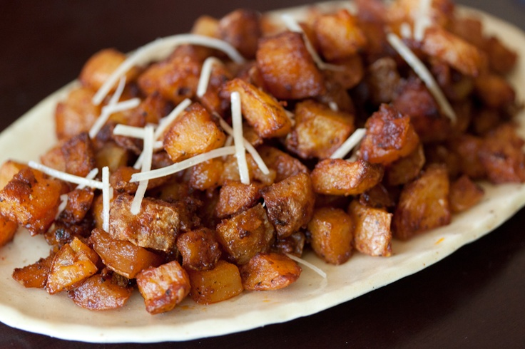 Parmesan Roasted PotatoesOlive Oil, Fun Recipe, Side Dishes, Potatoes Recipe, Food, Potatoes Cut, Potato Recipes, Parmesan Roasted Potatoes, Parm Potatoes