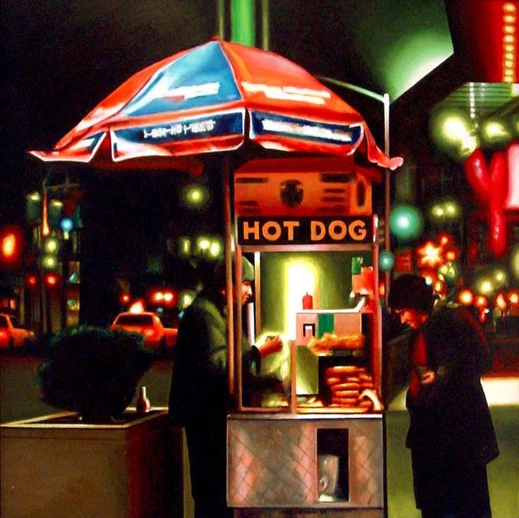 Hot Dog Stand NYC funny Pinterest Nueva York y Rancho