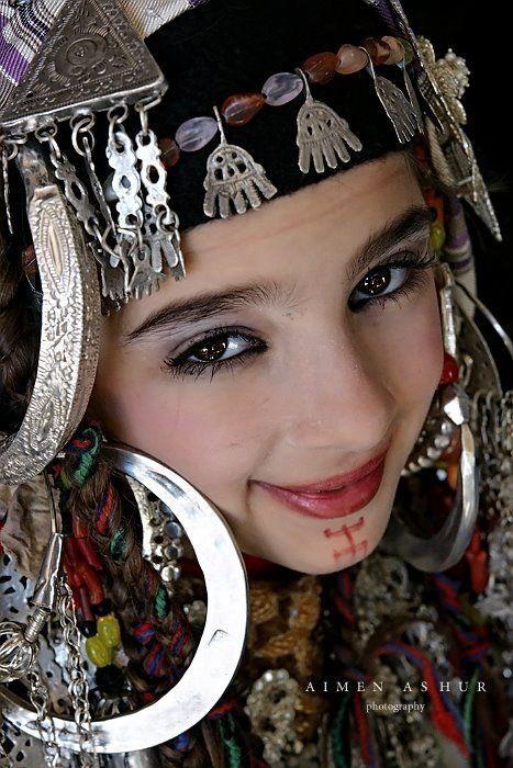 Berber Woman, Libya.