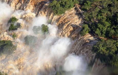 Imágenes de Iguazú. .Agencias