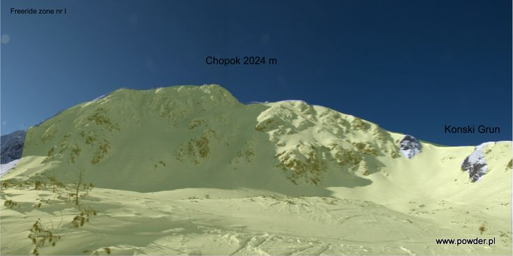 Chopok freeride zone 1