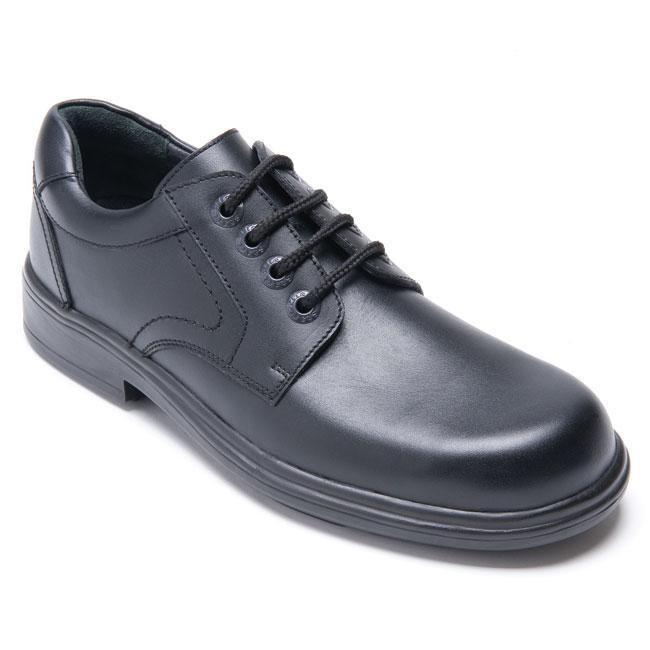 Toughees Shoes Janine Patent Leather, Zapatos Comfort, Niñas, Negro (Black), 39