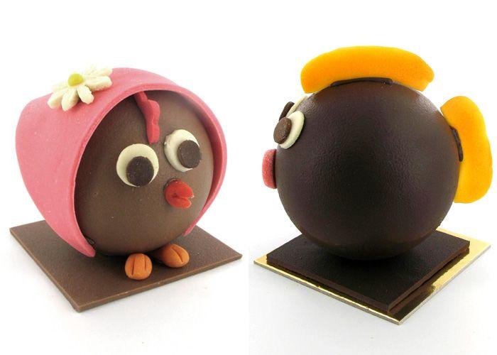 Collections chocolats de Pâques des chocolatiers lyonnais / Lyon. #yummy