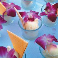 beach weddings - reception food
