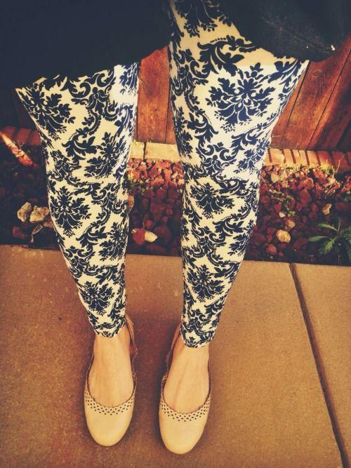 porcelain blue and white patterned pants nude flats blue blazer