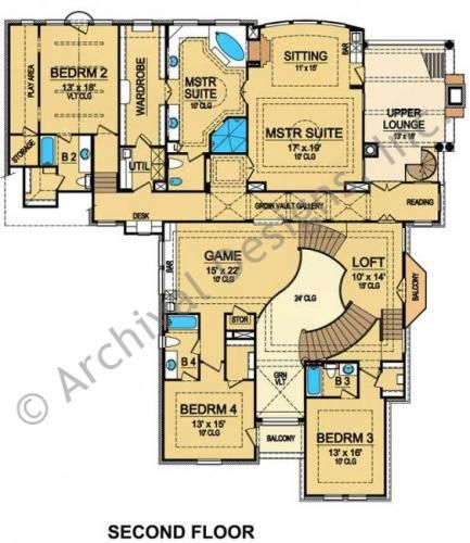 137 Best Images About House Plans On Pinterest Tuscan