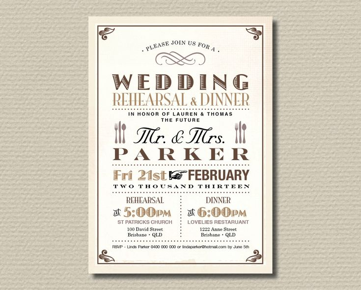 752 best Invitations Card by Silverlining images on Pinterest - dinner invitation templates free