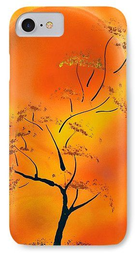 Hot Joy IPhone 7 Case Printed with Fine Art spray painting image Hot Joy by Nandor Molnar (When you visit the Shop, change the orientation, background color and image size as you wish)
