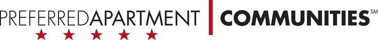 Preferred Apartment Communities logo.