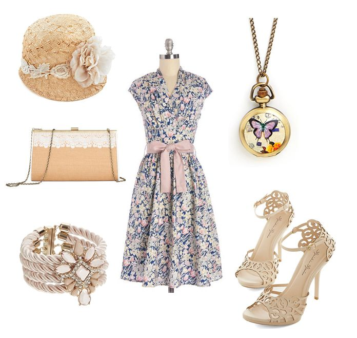 1000 ideas about high tea outfit on pinterest vintage fashion style classic looks and full for What to wear to a garden party