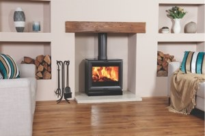 Wood Burning, Multi Fuel Stoves in Kent | Heat Design love this look