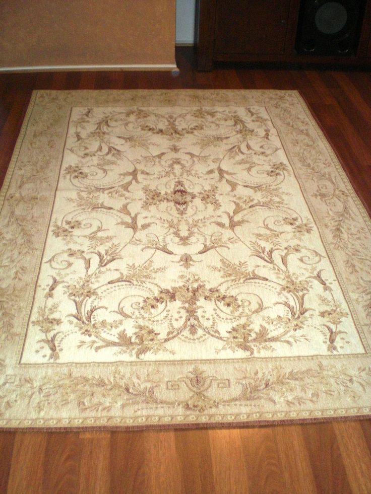 Laura Ashley Rug New Malmaison Gold Ivory 170 X 240 Cm