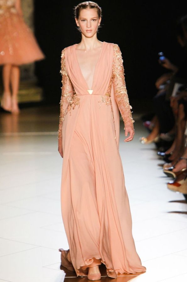 cordero y rubia: Fab Frock Viernes: Elie Saab Couture AW 2012, Parte 2