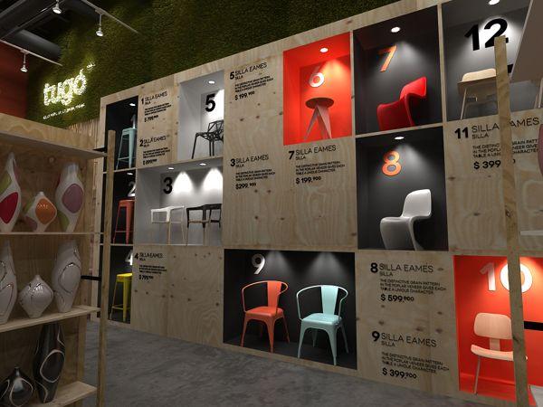 Propuesta de tiendas (proyecto no aprobado) by Plasma Diseño, via Behance