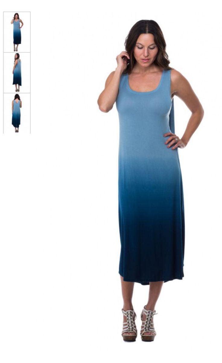 Blue Dip Callie Dress by fashion designer Marisa Kenson. My next new dress through #Youngevity. #MKCollab www.mkcollab.com/kazdesigns