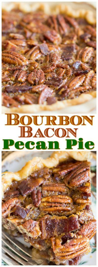 Looking for a new twist on a classic pecan pie? Booze always helps, and bacon never hurts. This Bourbon Bacon Pecan Pie is next level! It's hard to improve upon a traditional pecan pie, but this Bourbon Bacon Pecan Pie is a helluva way to do it!