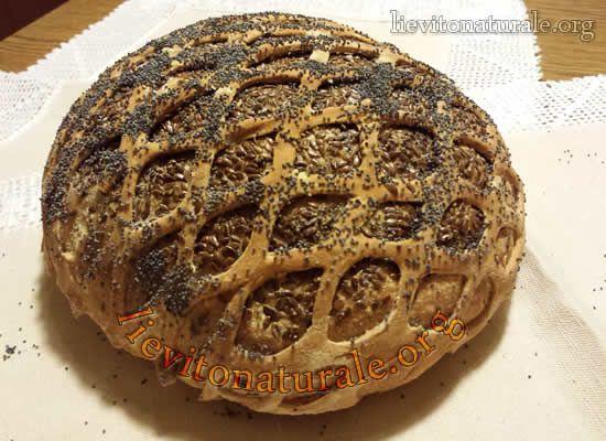 Pane foderato a rete con Lievito Naturale o Pasta Madre