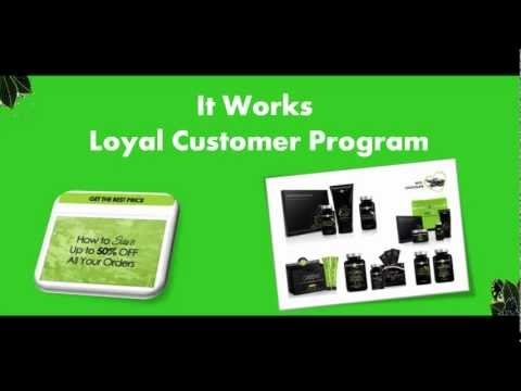 It Works Loyal Customer Program - Get up to 50% OFF http://newlifebodywraps.com/it-works-loyal-customer-program/