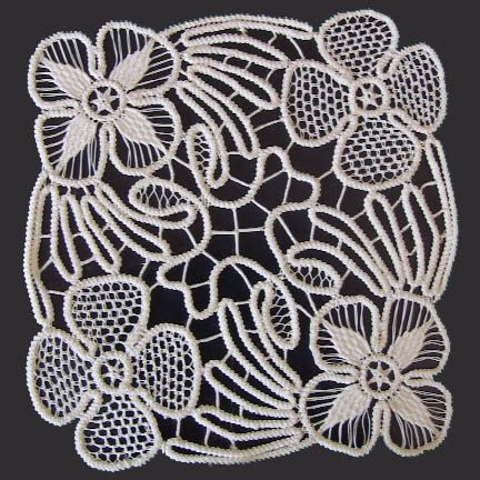 White Point Lace, Romanian Crochet