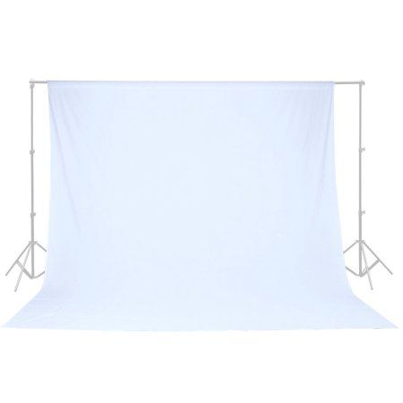 Free Shipping. Buy 10 X 10 Ft White Muslin Backdrop 100% Cotton Photo Studio Photography Background at Walmart.com