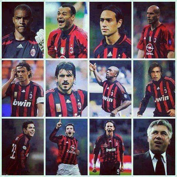 Once upon a time at A.C. Milan