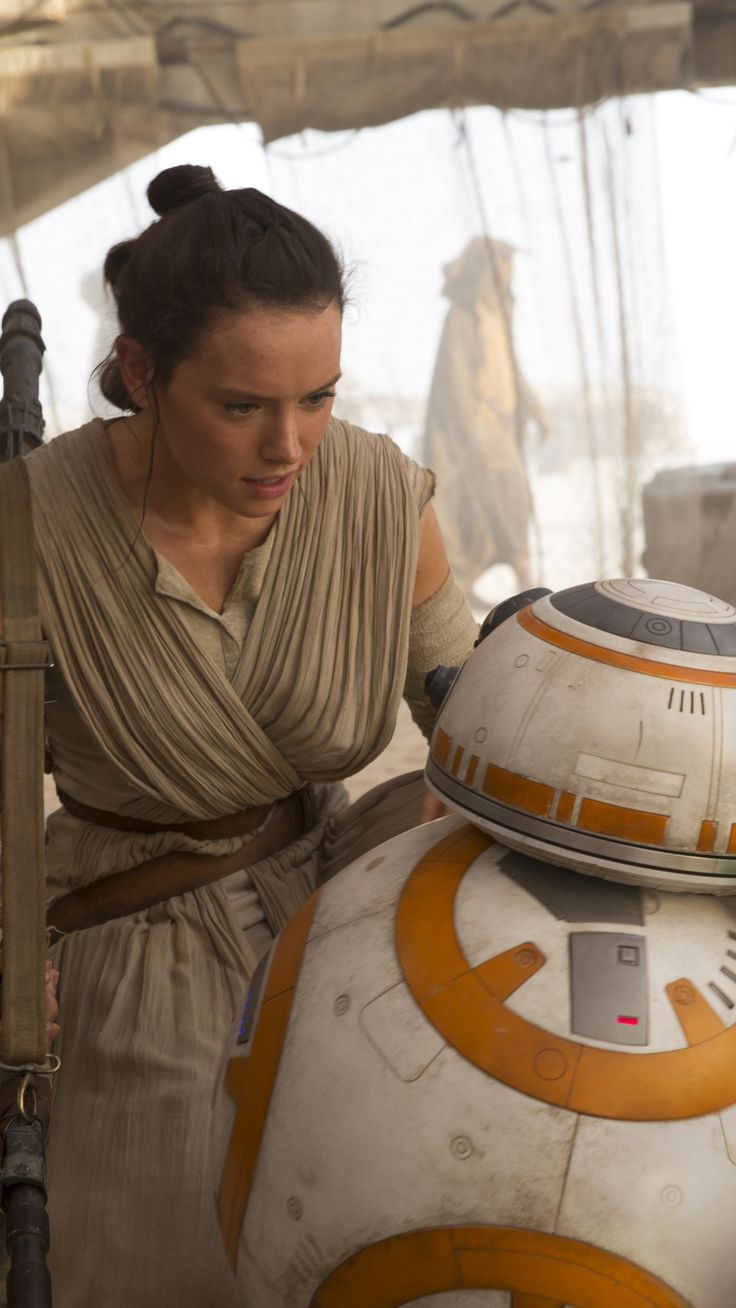 Movie Star Wars Episode VII: The Force Awakens Star Wars Rey Daisy Ridley BB-8.