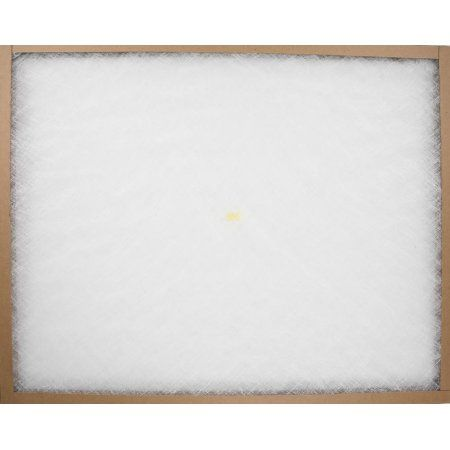 Flanders 10055. 012430 24 x 30 x 1 inch EZ Flow II Spun Fiberglass Disposable Furnace Filter - Pack Of 12, White