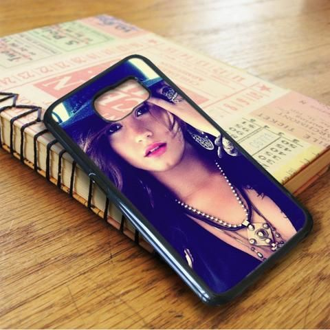 Demi Lovato Cover Album Samsung Galaxy S6 Case