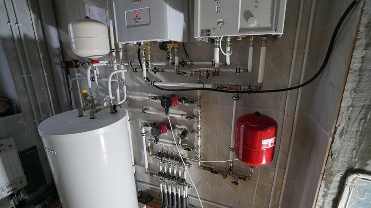 Пример. Котельная. Теплые полы. Радиаторы. Система водоснабжения. Система канализации