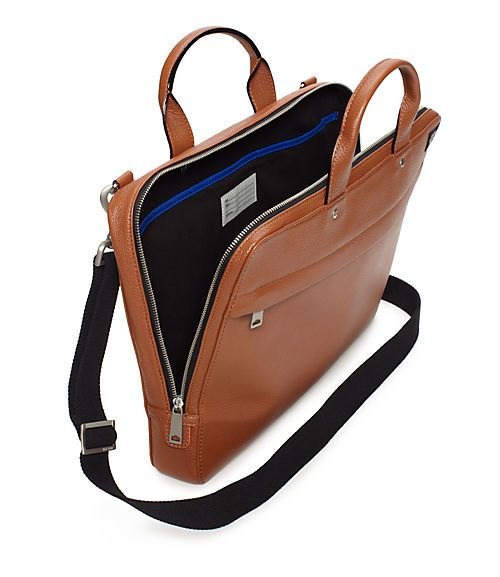 Mason Leather Slim Brief - JackSpade
