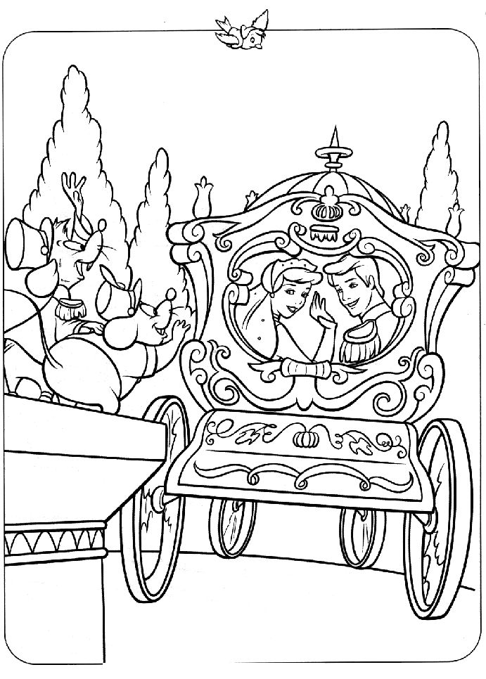 48 best images about cendrillon on pinterest disney princess coloring pages and coloring - Coloriage proncesse ...