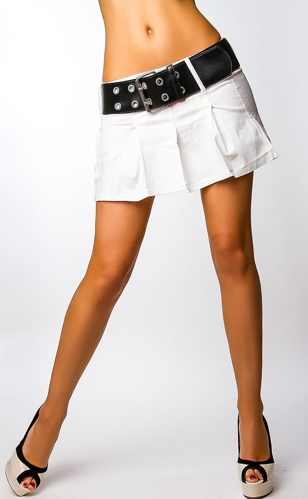 Freizeit Minirock Stretchrock HÜFTROCK Damen Jeans Rock Businessrock 34,36,38,40