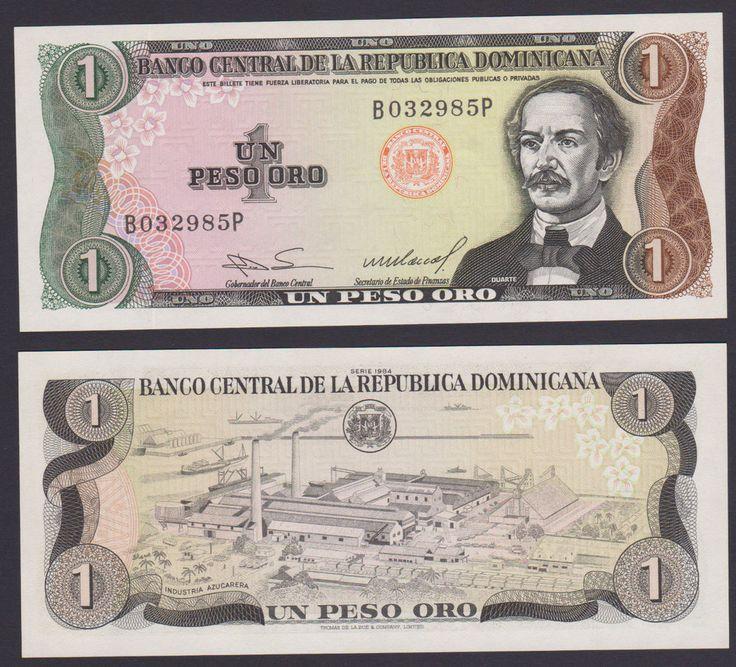 Dominican Republic 1 Peso Oro 1984 P126 UNC