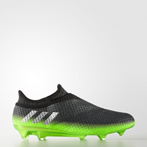 Messi 16  Pureagility Firm Ground Cleats - Grey