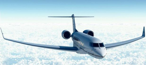 """Gulfstream G650, some how it always seems to me that the plane is wearing sun glasses and is like """"I'm to cool for that!"""" but just the 650"""