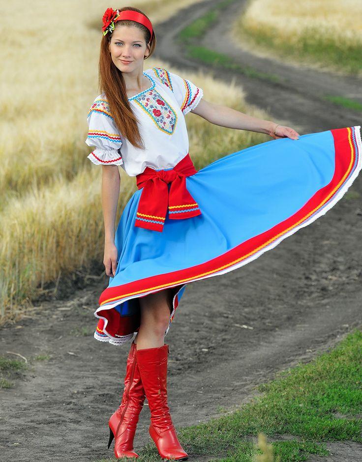 Traditional Ukrainian costume ''Zlata''   RusClothing.com