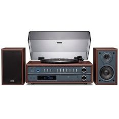 TEAC Turntable, Bluetooth, CD, MP3 WMA, Radio FM AM รุ่น LP-P1000 (Cherry)