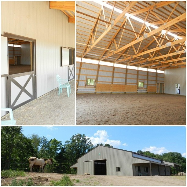 A must pin if you are a horse fan! Check out this Cleary Building riding arena!