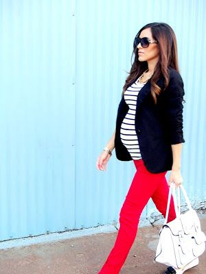 Fall/Winter Maternity Fashion Style