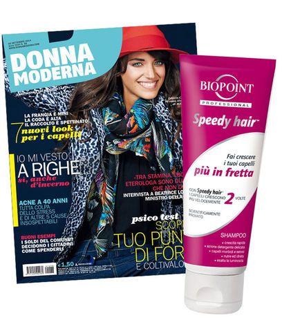 La Breccola: Omaggio shampoo rivista Donna Moderna