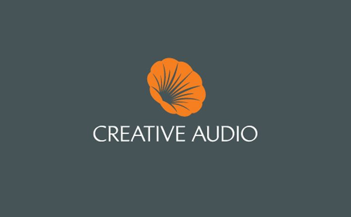 Creative-Audio logo design