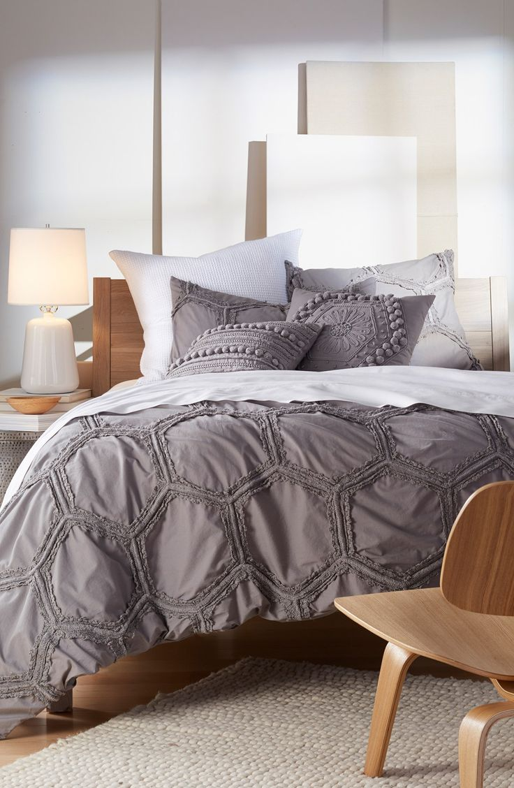 Nordstrom at Home 'Tufted Lace - Honeycomb' Duvet