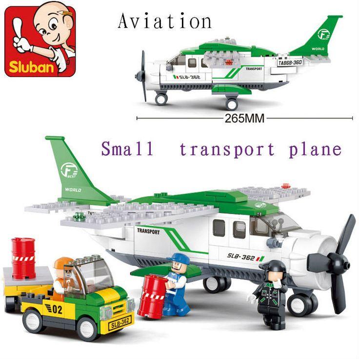 Sluban 251 stks M38 B0362 luchtvaart air vervoer vliegtuig korting plastic bouwstenen set onderwijsprojecten bakstenen blokken kids diy speelgoed in  aandacht: om te besparen de vracht vergoeding, wij verkopen dit blok zonder originele doos. wij garanderen alle b van blokken op AliExpress.com   Alibaba Groep