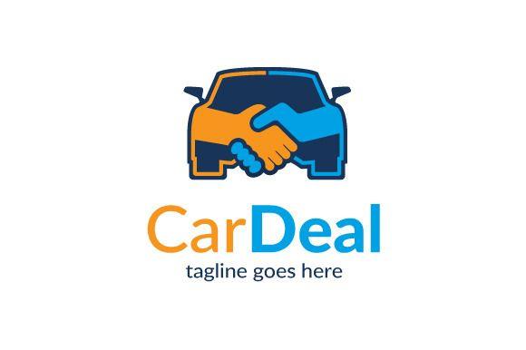 Car Deal Logo Template Design by gunaonedesign on Creative Market