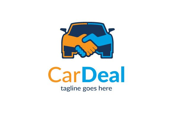 Car Deal Logo Template Design by gunaonedesign on Creative Market