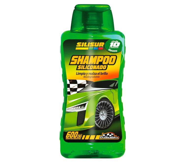 Oferta solo por Internet  http://articulo.mercadolibre.com.ar/MLA-546502846-silisur-shampoo-siliconado-lava-autos-600cc-manzana-_JM