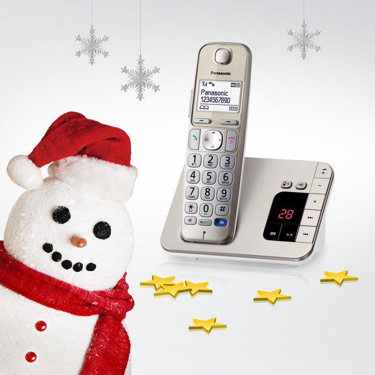 Nicht alles, was jetzt klingelt, ist der Weihnachtsmann. Hinter Tür 5 bimmelt ein neues Telefon. @PanasonicDeutschland