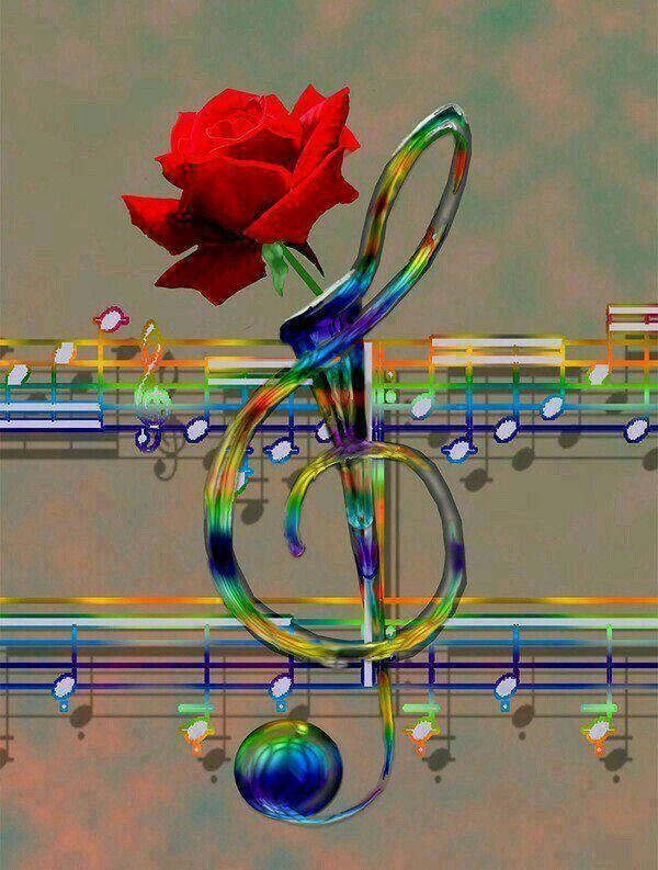 Анимация музыкальной картинки
