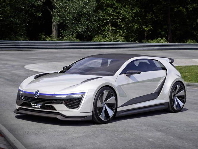Volkswagen S Gte Sport Is A 394 Horsepower Plug In Hybrid Concept Pictures Concept Cars Volkswagen Golf Volkswagen